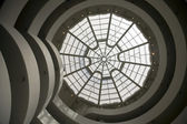Solomon R. Guggenheim Museum Interior — Stock Photo