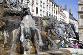 La Fontaine Bartholdi — Stock Photo