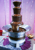 Chocolate Fountain — Stockfoto