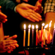 Jewish Holidays Hanukkah - Stock Photo
