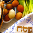 Passover Seder Dinner Celebrations - Stock Photo