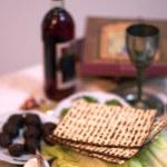 Passover Seder Dinner Celebrations — Stock Photo