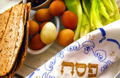 Passover Seder Dinner Celebrations — Stok fotoğraf