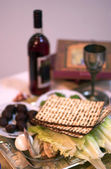 Passover Seder Dinner Celebrations — Stock Photo