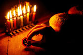 Jewish Holidays Hanukkah — Stock Photo