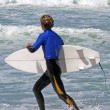 Stock Photo: Sea Sport - Wave Surfing