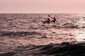 Spor fotoğrafları - kano ve kayak — Stok fotoğraf