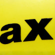 Stock Photo: Taxi Cab
