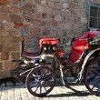 Horse carriage - Foto Stock