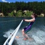 Water Sports - Water Skiing — Stock Photo