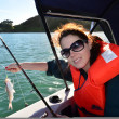 Fishing - Watersport - Stock fotografie