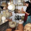 Bahla Pottery Market in Oman — Stock Photo