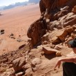 The Hashemite Kingdom of Jordan-Wadi Rum — Стоковая фотография