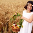 Stock Photo: Israeli Children Participate in Shavuot Jewish Holiday