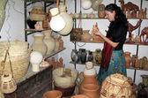 Bahlā' keramik marknad i oman — Stockfoto