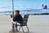 Mar esporte - pesca — Foto Stock