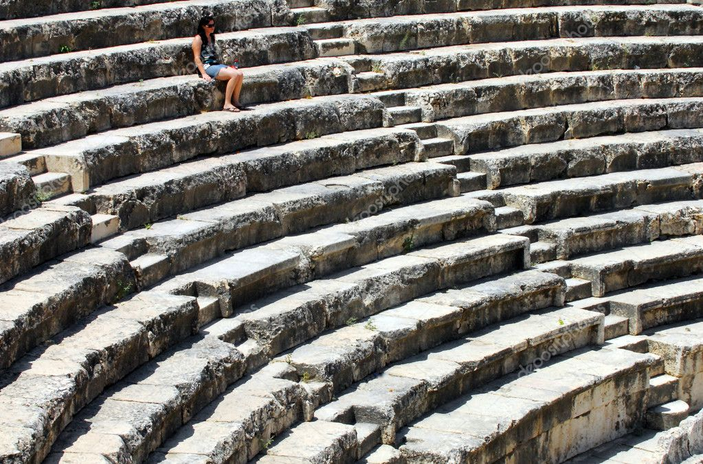 The amphitheatre in Ancient Beit Shean, Israel. — Stock Photo #10852459
