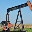 Old Pump Jack - Stock Photo