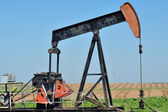 Old Pump Jack — Stockfoto
