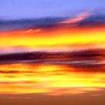 Daytime - Sunrise and Sunset — Stock Photo