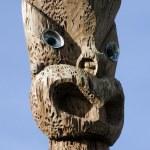Maori Culture - Carving Design — Stock Photo #10943364