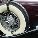 eski klasik eski model araba şovu — Stok fotoğraf #10944198