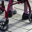 Concept Photo - Old and Elderly Life - Wheelchair — Stock Photo