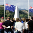Stock Photo: Anzac Day - War Memorial Service