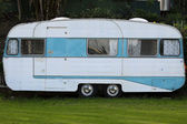 Old Caravan — Stock Photo