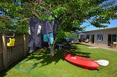 Sea Sport - Canoe and Kayaks — Stock Photo