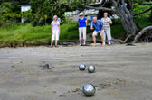 Sport and Recreation - Petanque — Stock Photo