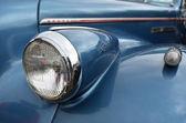 Ancien salon de l'automobile de vintage classique — Photo