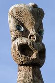 Maori Culture - Carving Design — Stock Photo
