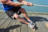 Sport - Rope Pulling — Stock Photo