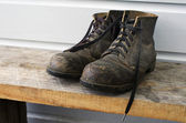 Garten- und Arbeit - Schuhe — Stockfoto