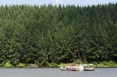 Boating - Paddle Boat — Stock Photo