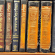 Old Torah books — Stock Photo