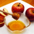 Stock Photo: Jewish New Year - Rosh Hashanah - Apple and Honey