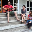 Family Moments - Music — Stock Photo