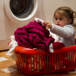 Childhood - Clothing and Laundry — Stock Photo