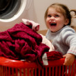 Childhood - Clothing and Laundry — Stock Photo