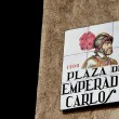 PlazDel Emerador Carlos V — Stock Photo #11116171