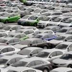 Many Cars — Stock Photo