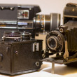 Old Cameras — Stock Photo