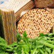 Matza for Passover — Foto Stock