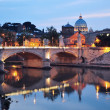 Night View of Rome, Italy — Stock Photo #11116522