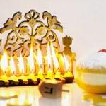 Jewish Holiday Hanukkah — Stock Photo #11116574