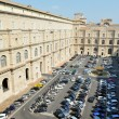 VaticMuseum parking lot in Rome, Italy — Stock Photo #11116619