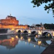 Sant Angelo in Rome, Italy — Stock Photo