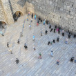 Wailing Wall Mini Israel - Stock Photo